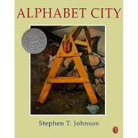 Alphabet City 英文原版儿童书《字母城市》1996年凯迪克银奖绘本