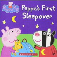 Peppa's First Sleepover 粉红猪小妹:第一次在外过夜【英文原版童书 小猪佩奇】