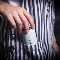 迷你小号茶叶罐 陶瓷密封罐 便携式旅行茶具茶盒小罐茶家用
