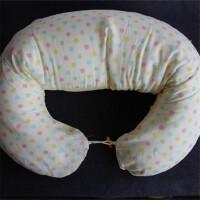 哺乳枕授乳枕 超长多功能喂奶枕护腰枕孕妇枕 鹅暖色波点
