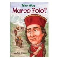 【现货】英文原版 Who Was Marco Polo? 漫画名人传记:马可・波罗是谁 中小学生读物