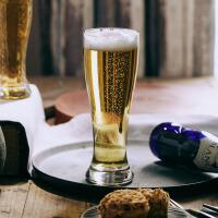 【每满100减50】汉馨堂 啤酒杯 玩物志德式精酿冰镇啤酒杯大加厚玻璃创意复古家用450ml抖音网红