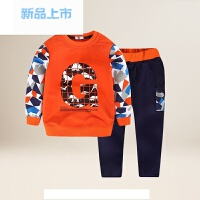 童装男童套装2018中大童春季长袖运动男孩卫衣裤子两件套10岁