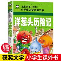 洋葱头历险记 彩图注音版 小学生一二三年级5-6-7-8岁语文课外必读世界经典儿童文学名著童话故事书