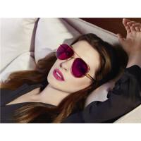 BOLON暴龙2018年新款蛤蟆镜金属框太阳镜明星同款墨镜眼镜BL7019