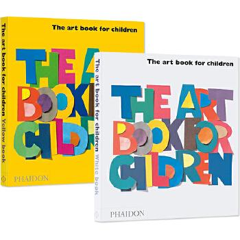 英文原版绘本 The Art Book for Children 给孩子的艺术书 2本精装 儿童艺术启蒙精装图画书 Herve Tullet