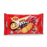 马来西亚进口食品WIN2赢赢番茄味薄饼干儿童休闲零食非油炸 120g