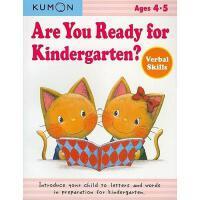 【预订】Are You Ready for Kindergarten?: Verbal Skills