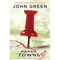 现货 Paper Towns 英文原版 纸镇 约翰葛林著