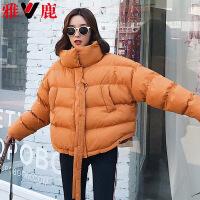 yaloo/雅鹿韩版冬装新款时尚羽绒服女士短款加厚保暖外套