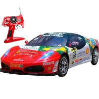 童励 1:12法拉利漂移遥控车儿童玩具高速赛车可充电动仿真遥控汽车模型男孩礼物 1:12 法拉利F430-28号车