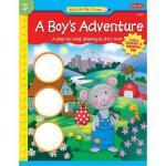 【预订】A Boy's Adventure [With Reward StickersWith Drawing