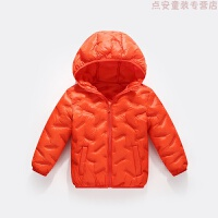 新款儿童羽绒保暖加厚男童轻薄款女童棉衣中大童棉袄外套短款