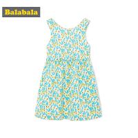 巴拉巴拉童装女童连衣裙小童宝宝镂空裙子儿童公主裙夏装新款