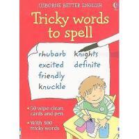 【预订】Tricky Words to Spell [With Pens/Pencils]