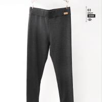 冬新款无痕黑色加绒保暖打底裤女高腰色棉加厚小脚铅笔裤内外穿