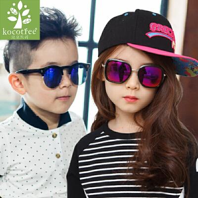 KK树儿童眼镜亲子太阳镜男女童宝宝眼镜小孩墨镜潮蛤蟆镜潮流  时尚 防紫外线