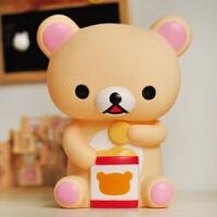 轻松熊存钱罐实用可爱卡通储蓄罐小礼品儿童回礼幼儿园生日礼物