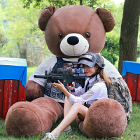 熊�公仔可�郾П�熊大�布娃娃送女友大熊毛�q玩具女生2米