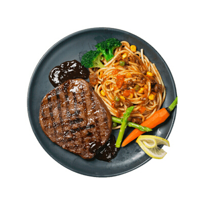 【10片】 酣畅 澳洲菲力牛排130g*10  送黑椒汁澳洲进口牛肉 肉质鲜嫩多汁