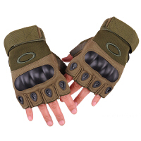 黑鹰半指手套 军迷战术手套户外骑行运动防滑男士手套