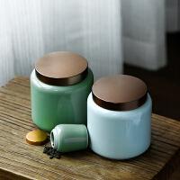 迷你茶仓小号普洱茶叶盒旅行便携式存茶密封罐