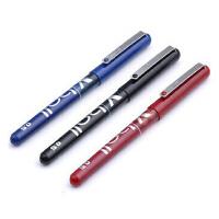 日本百乐 BL-VB5威宝走珠笔・拔帽开窗太空笔・0.5签字笔