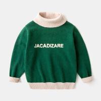儿童高领毛衣保暖针织衫男童女童打底衫秋冬季套头上衣宝宝童装