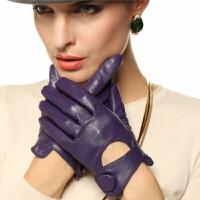 女士羊皮手套款时尚潮流修手皮手套