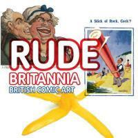 【预订】Rude Britannia: British Comic Art