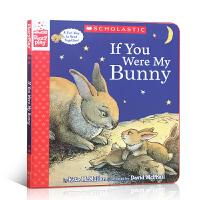 【全店300减100】英文原版 If You Were My Bunny如果你是我的兔宝宝 精装角色扮演互动游戏书启蒙低