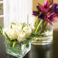 假花玫瑰花束仿真绢花装饰花摆件客厅摆设餐桌花艺摆件
