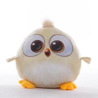 毛绒玩具愤怒的小鸟可爱萌小鸟公仔绿色圆眼小鸟布娃娃小鸡玩偶生日礼物