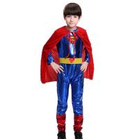 圣诞节万圣节服装男童cospaly海盗国王角色扮演王子衣服超人 超人L