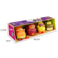 男孩玩具宝宝儿童迷你小汽车子2-3-4-6岁回力惯性停车场模型套装