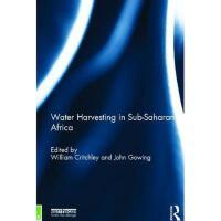【预订】Water Harvesting in Sub-Saharan Africa