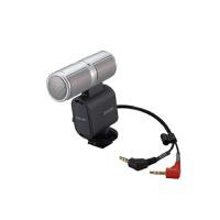 索尼 ECM-CQP1索尼CQP1立体声无线麦克风用于摄像机2100E fX1E 50E 350E
