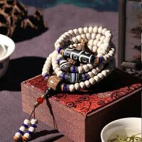 时尚菩提108颗佛珠手链项链民族风配饰男女手串饰品