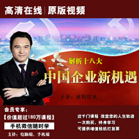 欧阳红武解析十八大 中国企业新机遇正版高清在线视频非DVD光盘 3