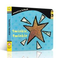 英文原版Twinkle, Twinkle: Amazing Baby奇妙的宝宝:一闪一闪星 儿童启蒙纸板书 亲子阅读绘