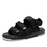 西瑞男凉鞋夏季新款韩版潮魔术贴男士运动休闲沙滩凉鞋越南凉拖鞋女鞋ZC-X007