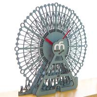 挂钟客厅现代个性挂表欧式田园静音时钟卧室装饰壁钟