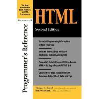 【预订】HTML Programmer's Reference, 2nd Edition