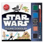 【预订】Star Wars Thumb Doodles [With Dual-Tipped Colored