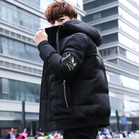 帅气男士冬装棉袄子棉衣男韩版潮流冬季青年保暖外套