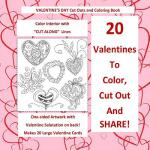 【预订】Valentine's Day Cut Out and Coloring Book Color Interio