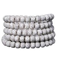 海南星月菩提子108颗素珠佛珠手串项链正月干磨高密男女手链 局器级精挑A+8X6 桶珠正月高密