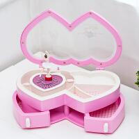 音乐盒八音盒跳舞芭蕾女孩 儿童首饰盒创意旋转摆件女生生日礼物礼品