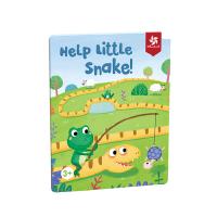 Pinwheel 贪吃蛇儿童益智玩具逻辑思维训练桌游磁力拼图桌面游戏