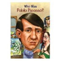 【现货】英文原版 Who Was Pablo Picasso? 毕加索是谁 名人认知系列 中小学生读物